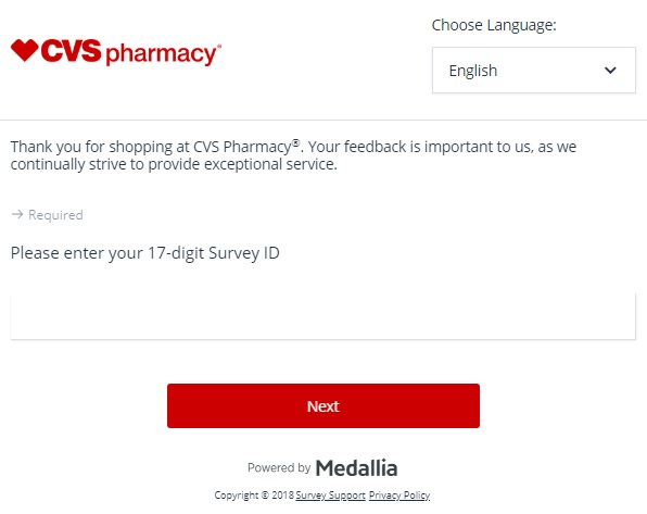CVS Customer Survey