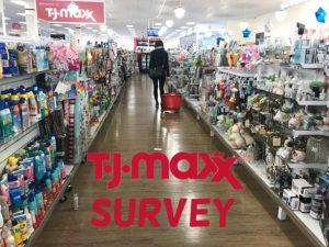 TJ Maxx Survey