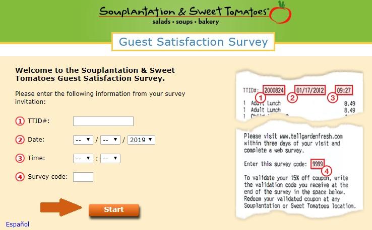 TellGardenFresh Survey