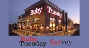 TellRubyTuesday Survey