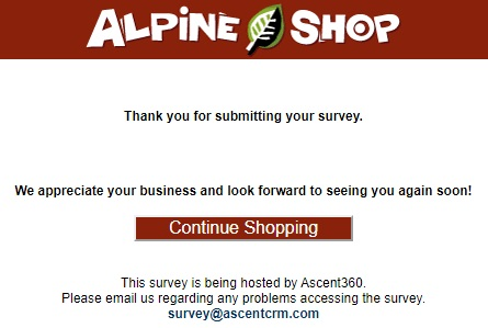 Alpine Survey