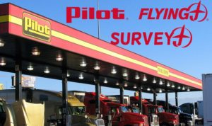Pilot Flying J Guest Survey
