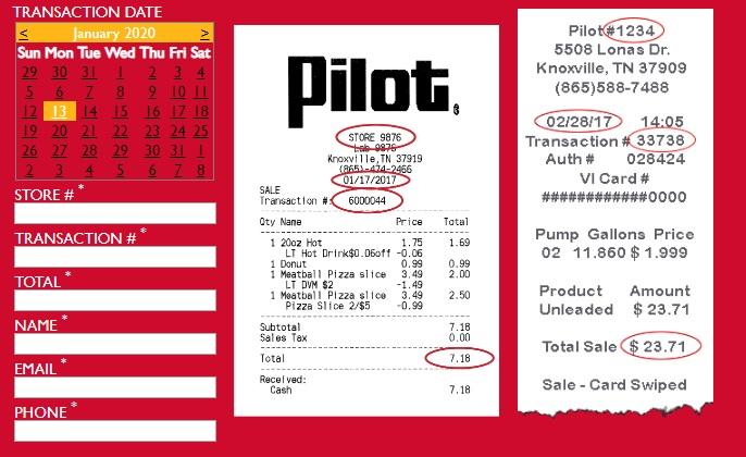 Pilot Flying J Survey Code