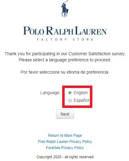 Polo Factory Survey