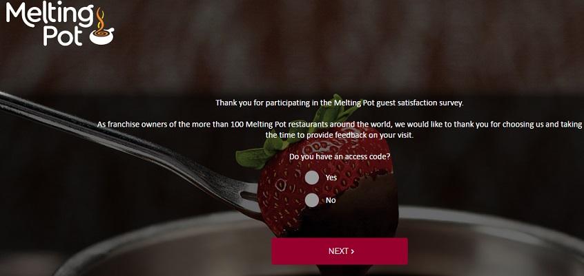 Fondue Customer Survey