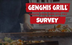 Genghis Grill Survey Smg