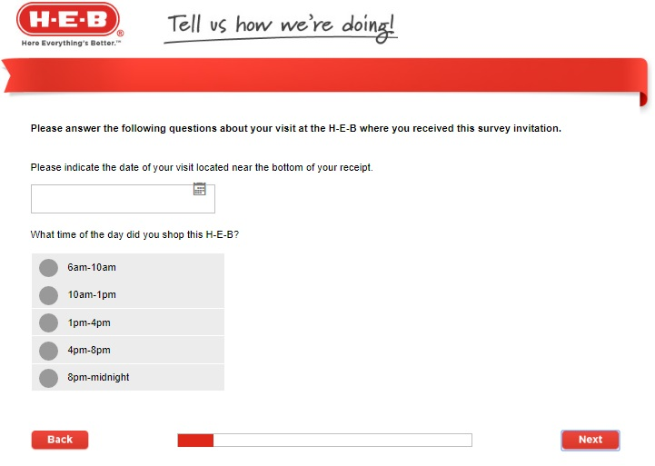 HEB Survey Questions