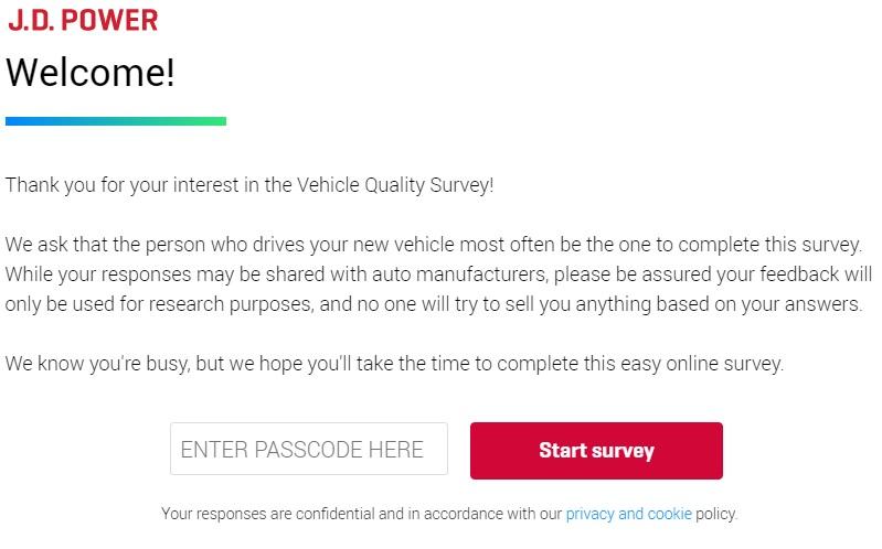 Jdpoweronline Survey