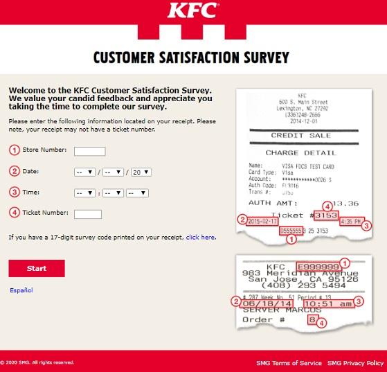 mykfcexperience Survey