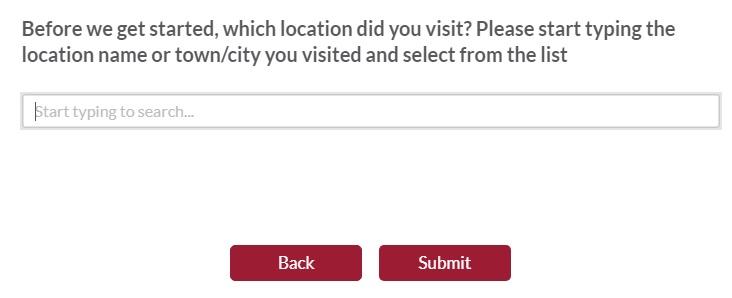 toby carvery £5 survey