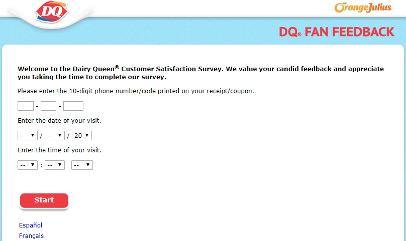 dq feedback survey