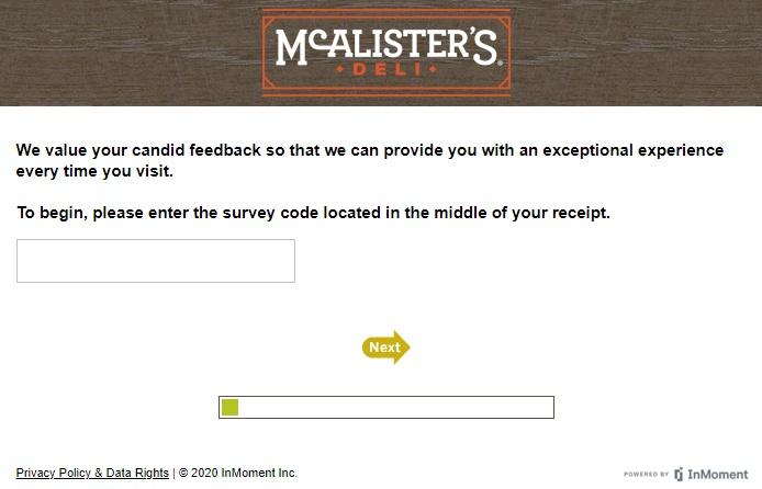 talktomcalisters Survey Code